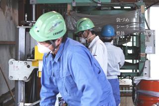 木材チップ工場